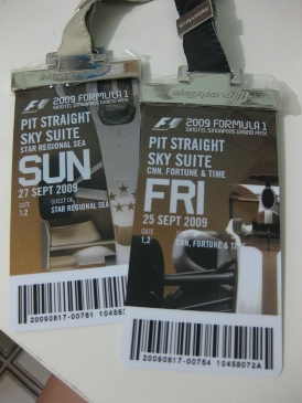Hospitality Suite tickets